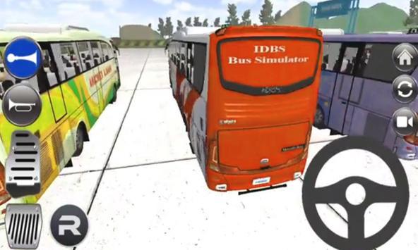 Tips:IDBS Bus Simulator 2017 apk screenshot