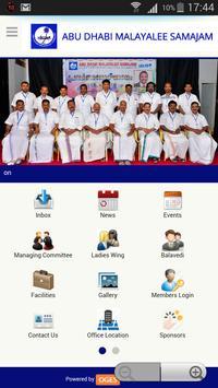 Abu Dhabi Malayalee Samajam apk screenshot