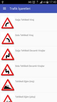 Trafik Levhaları apk screenshot