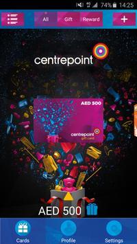 Centrepoint mGiftCard apk screenshot