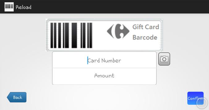 mGiftCard Merchant apk screenshot