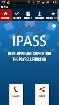 Irish Payroll Association poster