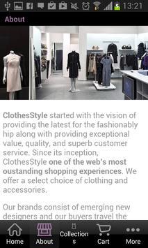 ClothesStyle apk screenshot