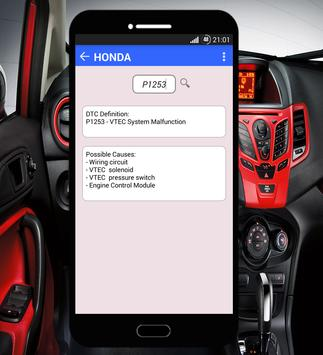 OBD2 Codes Fix Free apk screenshot