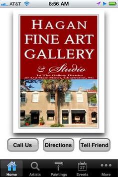 Hagan Fine Art Gallery poster