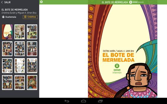 Comic On Tour. Oxfam Intermón apk screenshot