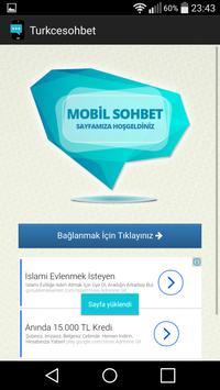 Türkçe Sohbet Odaları poster