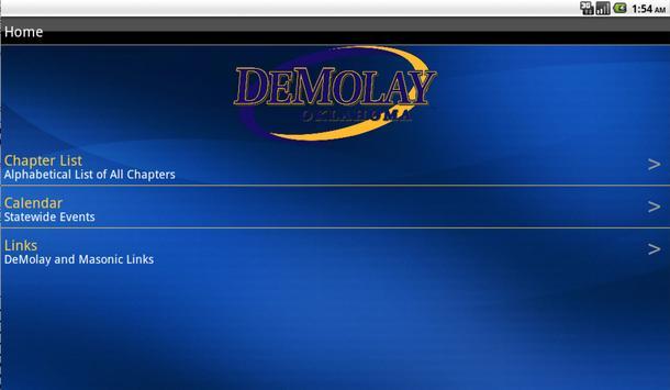 Oklahoma DeMolay apk screenshot