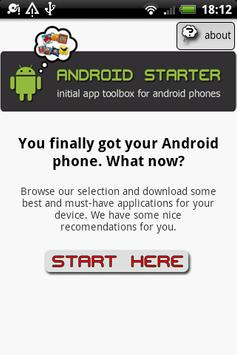 Android Starter poster