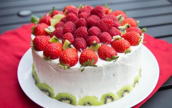 Fruity Cake Recipes apk screenshot