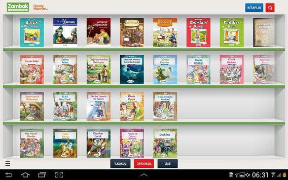 Zambak reading books apk screenshot