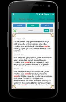 OKU-DER Ayet Meal Namaz Vakti apk screenshot