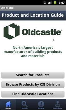 Oldcastle Product Guide poster
