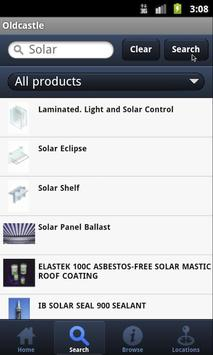 Oldcastle Product Guide apk screenshot