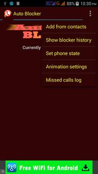 Auto blocker apk screenshot