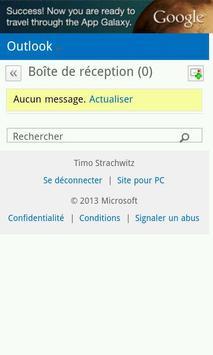 Reader For Outlook™ Français apk screenshot