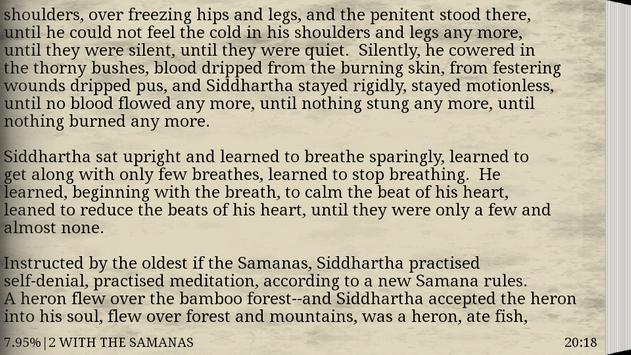 Siddhartha. An Indian Tale apk screenshot