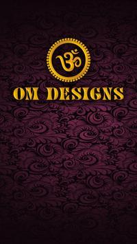 Om Designs poster