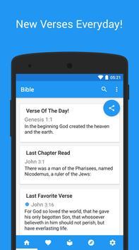 King James Bible (KJV) - pure poster