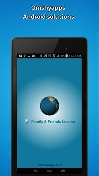 Family & Friends Locator poster
