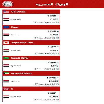 Egypt Banks apk screenshot