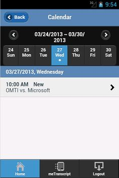 HG Litigation Services App apk screenshot