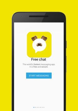 Snap Face messenger poster