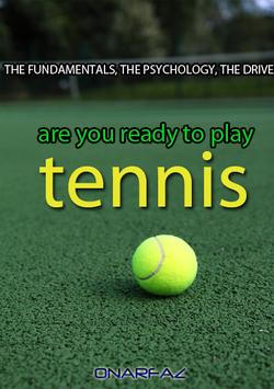 are you ready to play tennis poster