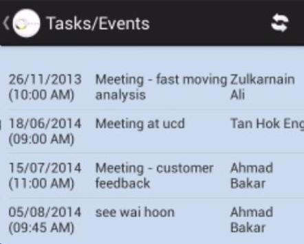 Sales and Team Management apk screenshot
