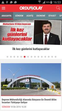 Ordu Olay poster