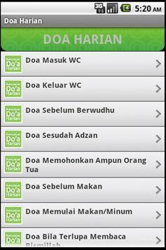 Doa Harian (Old) apk screenshot