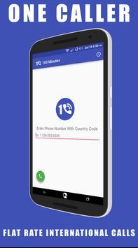 One Caller International Calls poster
