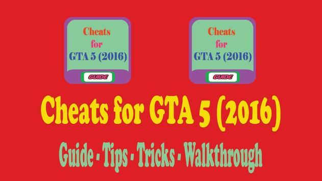 Cheats for GTA 5 (2016) apk screenshot