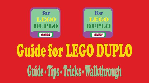 Guide for LEGO DUPLO poster