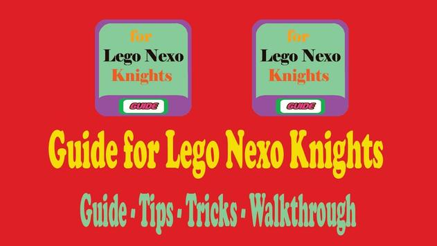 Guide for Lego Nexo Knights poster