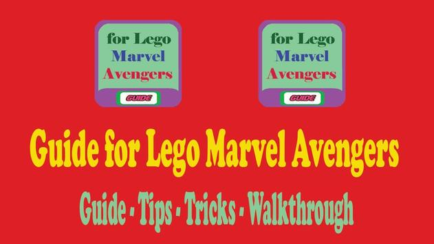 Guide for Lego Marvel Avengers poster