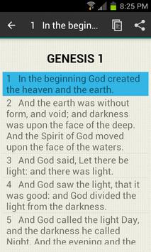 Chapter Bible GENESIS 1 apk screenshot
