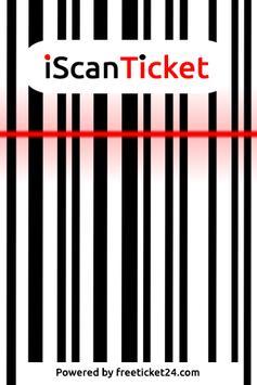 iScanTicket v.2 2.01 poster