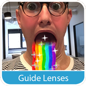 Guide Lenses for Snapchat 2016 icon