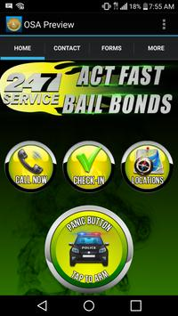 Act Fast Bail Bonds poster