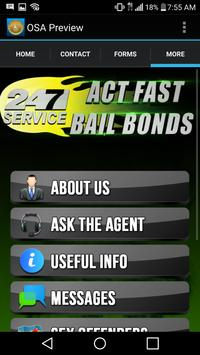 Act Fast Bail Bonds apk screenshot