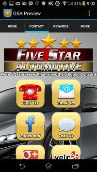 Five Star Auto apk screenshot