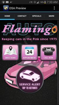 Flamingo Auto Repair poster