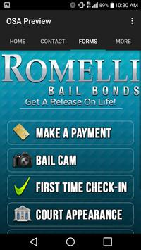 Romelli Bail Bonds apk screenshot