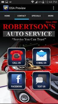 Robertsons Automotive apk screenshot