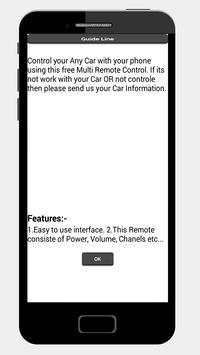 Car Remote Control Prank apk screenshot
