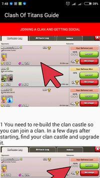 Guide For Clash Of Titans apk screenshot