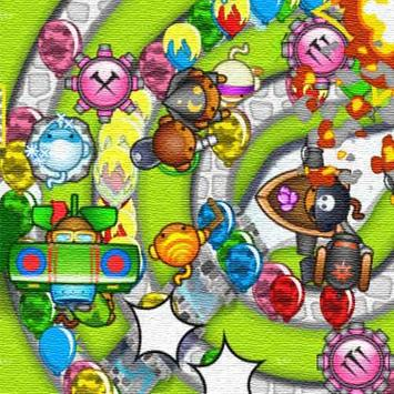 Guide for Bloons TD 5 poster