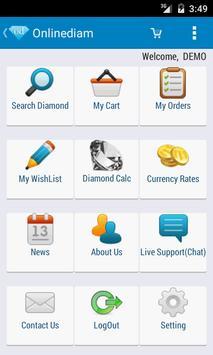 onlinediam - online diamonds poster