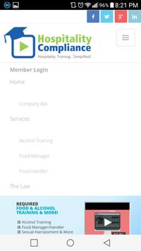 Hospitality Compliance apk screenshot